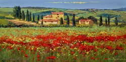Bellissima by Bruno Tinucci - Original Painting on Stretched Canvas sized 32x16 inches. Available from Whitewall Galleries